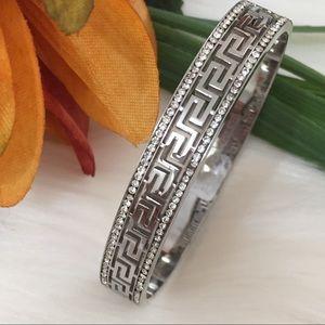 Stainless Steel Women's Bracelet, Greek Style